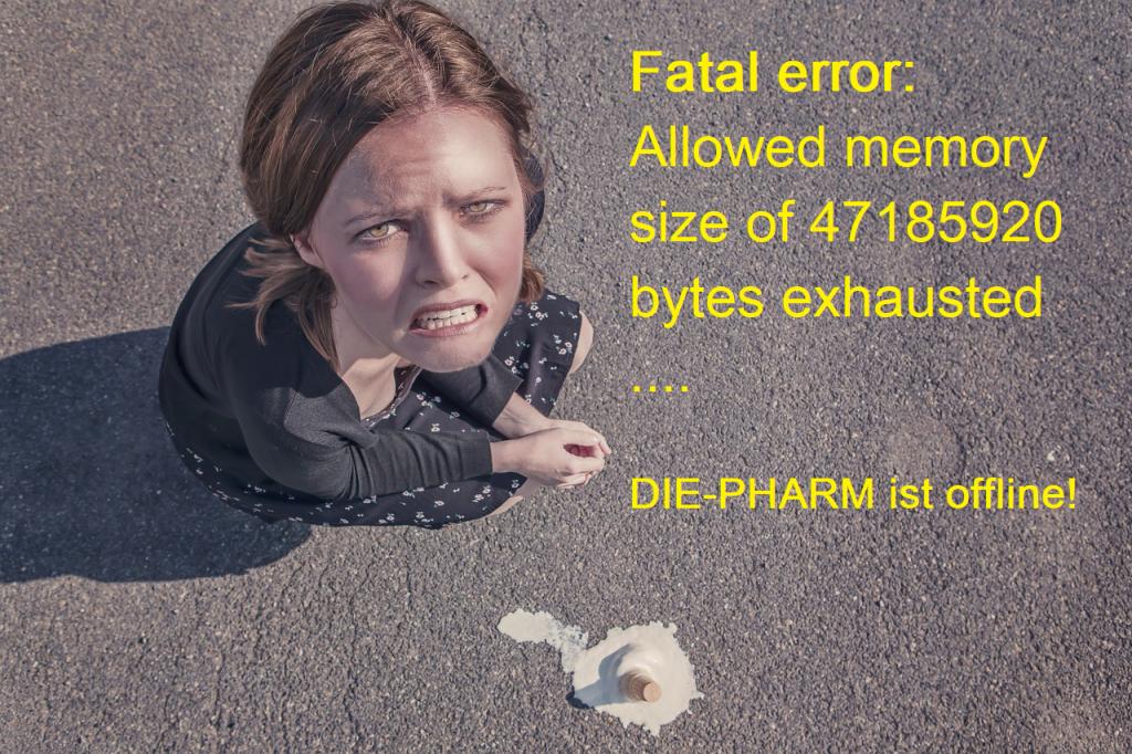 DIE-PHARM ist offline